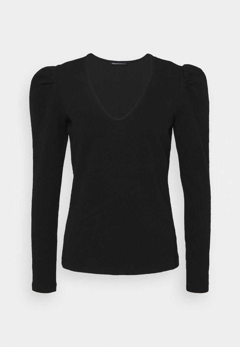 Expresso - BRANDI - Long sleeved top - schwarz