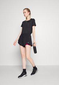 Nike Performance - ONE - T-shirts - black/white - 1