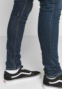 Volcom - Slim fit jeans - dark blue denim - 3
