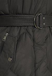 Lauren Ralph Lauren - MATTE FINISH COZY BELTED COAT - Down coat - black - 2