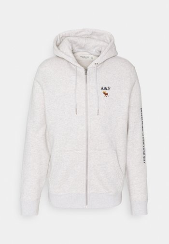 EMEA LOGOCON - Zip-up hoodie - grey