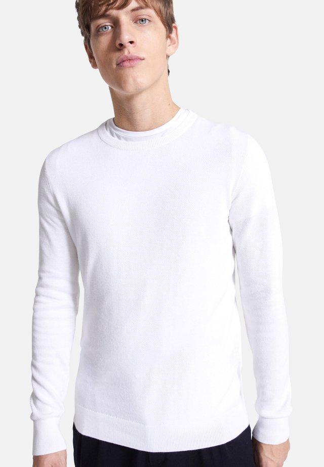 NEPIC - Strickpullover - white