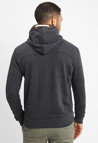 INDICODE JEANS - QUINBY - Zip-up hoodie - charcoal mix - 2