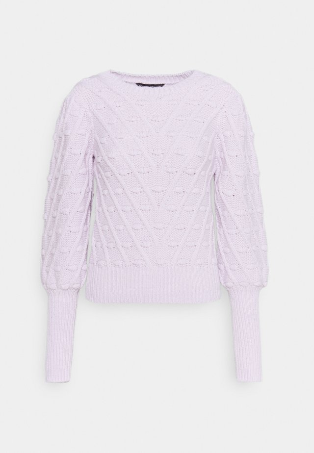 ULTIMATE BOBBLE JUMPER - Jersey de punto - lilac
