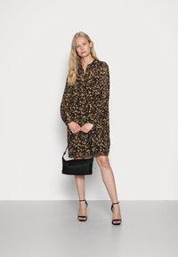 Esprit Collection - DRESSES LIGHT WOVEN - Abito a camicia - dark brown - 1
