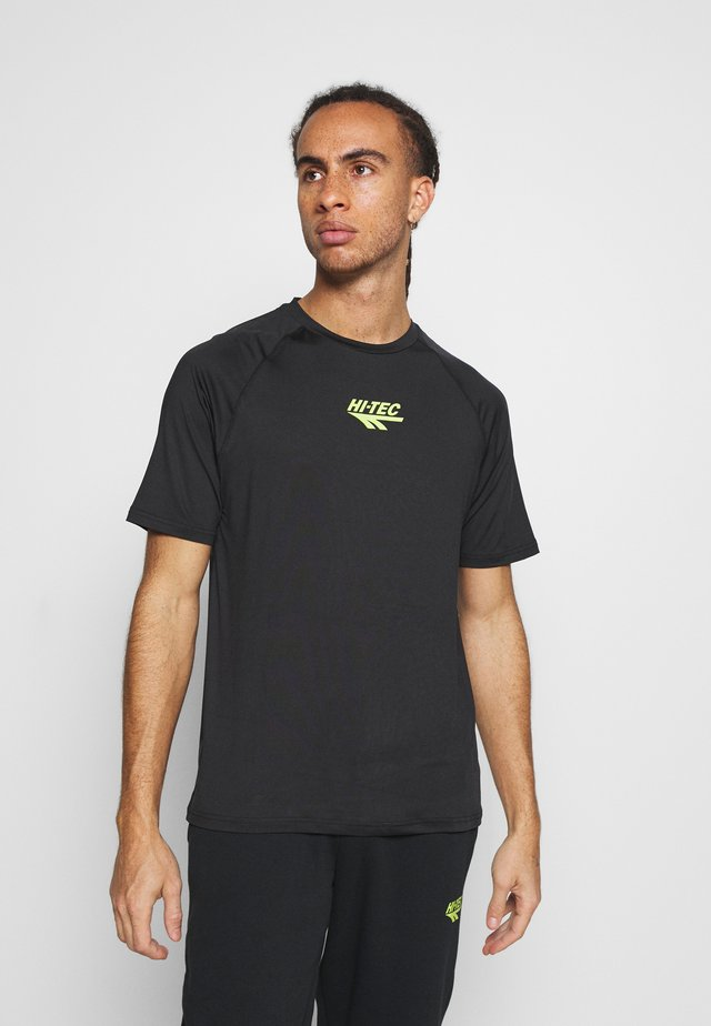 THOMAS BASIC LOGO TEE - Camiseta estampada - black