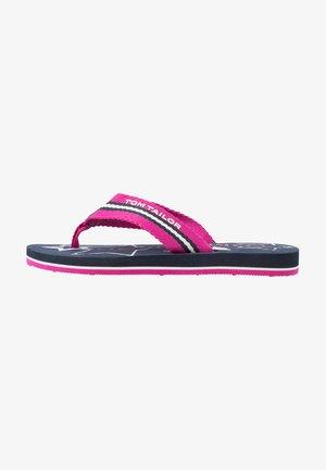 Sandalias de dedo - pink/navy