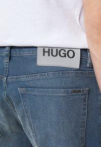 HUGO - Džíny Straight Fit - light/pastel blue - 5