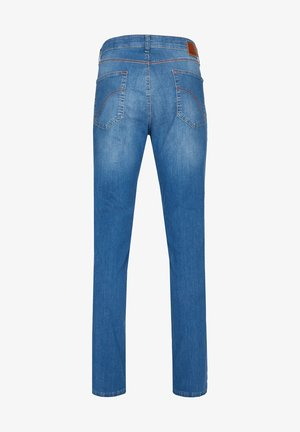 MIT HIGH-STRETCH - Jeans Slim Fit - hellblau 146