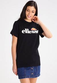 Ellesse - ALBANY - T-shirts med print - anthracite - 0
