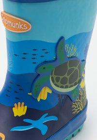 Chipmunks - OCEAN UNISEX - Gummistövlar - blue - 5