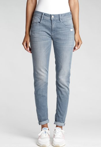 RELAXED FIT AMELIE - Slim fit jeans - lunar grey wash