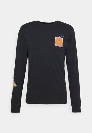 KEYCHAIN CREW - Long sleeved top - black