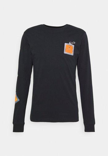KEYCHAIN CREW - Långärmad tröja - black