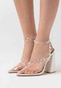 BEBO - RUHANA - High heels - clear/white - 0