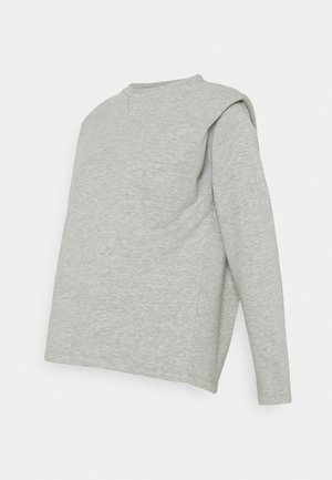 PCMJYTTA  - Bluza - light grey melange