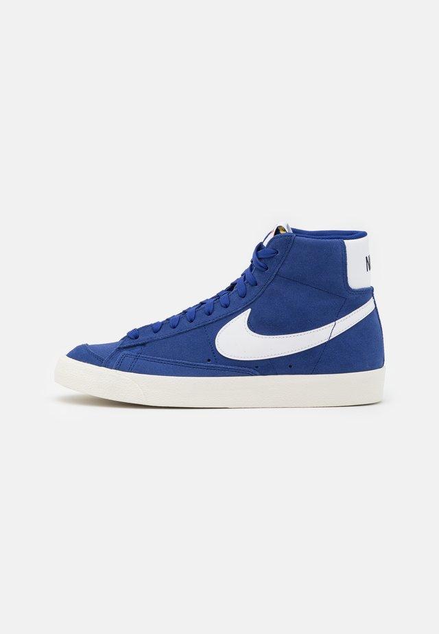 BLAZER MID '77 UNISEX - Zapatillas altas - deep royal blue/white/black
