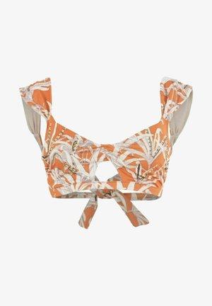 Góra od bikini - orange