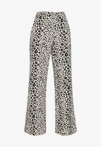 Fabienne Chapot - PUCK TROUSER - Trousers - black/offwhite - 3