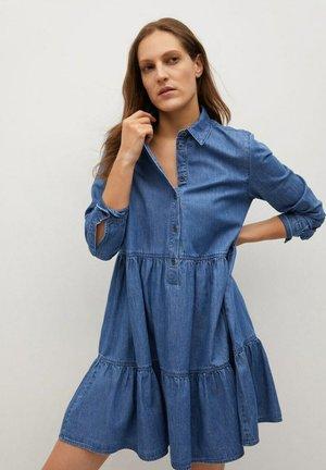 Denim dress - azul medio