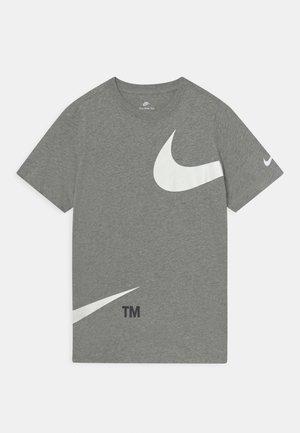 TEE  - T-shirt print - dark grey heather