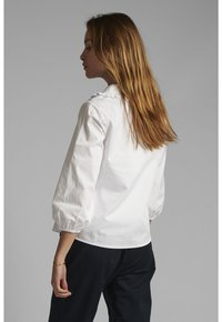 Nümph - Button-down blouse - bright white - 1