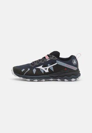 WAVE DAICHI 6 - Zapatillas de trail running - india ink/black/ignition red