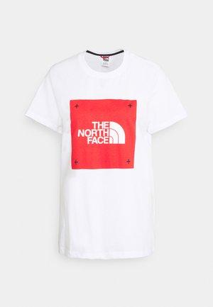 BOX TEE - Print T-shirt - white