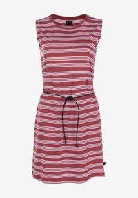 Forvert - KALIDA - Day dress - red/white - 5