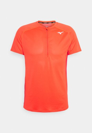 TRAIL TEE - T-shirt de sport - ignition red