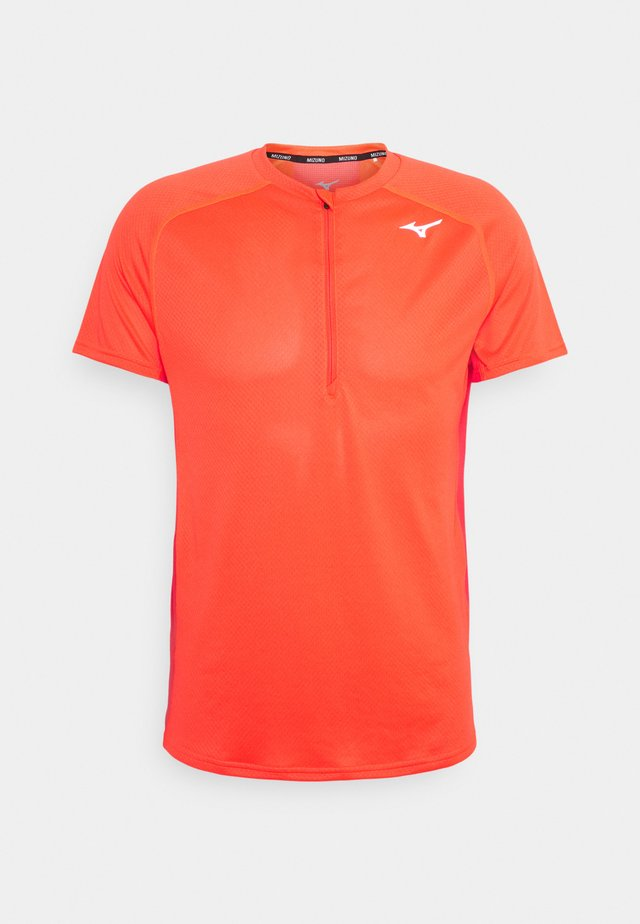 TRAIL TEE - T-shirt sportiva - ignition red