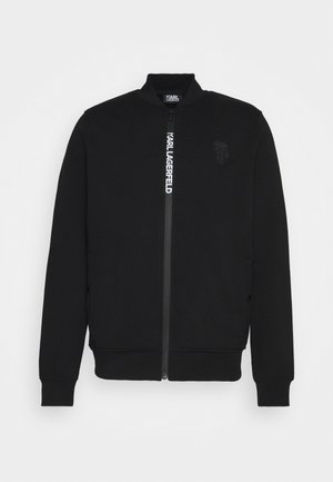 ZIP JACKET - veste en sweat zippée - black