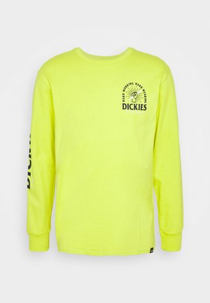 BALDWIN - T-shirt à manches longues - sulphur