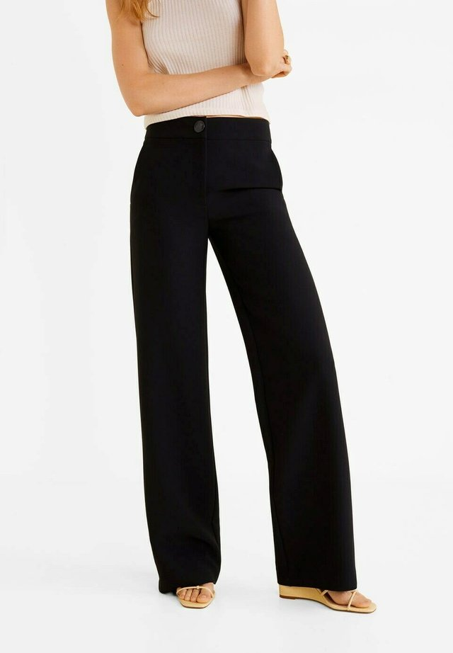 SIMON-I - Pantalones - zwart