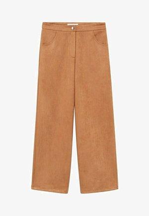 MALMO-A - Kalhoty - brun