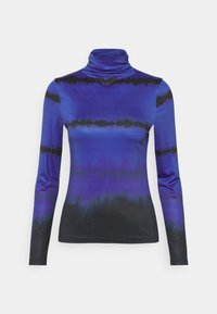 Who What Wear - RUCHED TURTLENECK - Long sleeved top - blue - 4