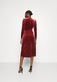 Closet - WRAP DRESS - Cocktail dress / Party dress - rust - 2