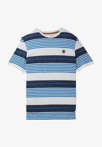 Timberland - T-shirt med print - nautical blue yd - 0
