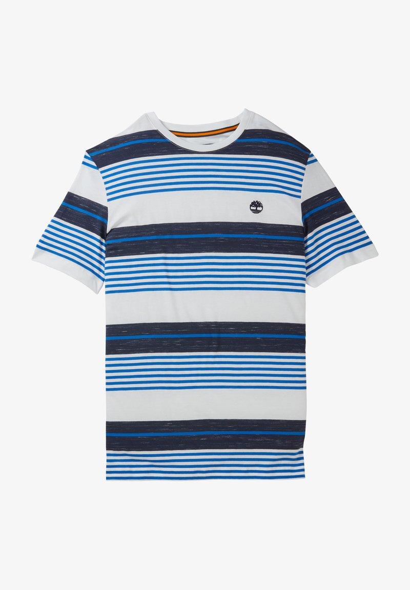 Timberland - T-shirt med print - nautical blue yd