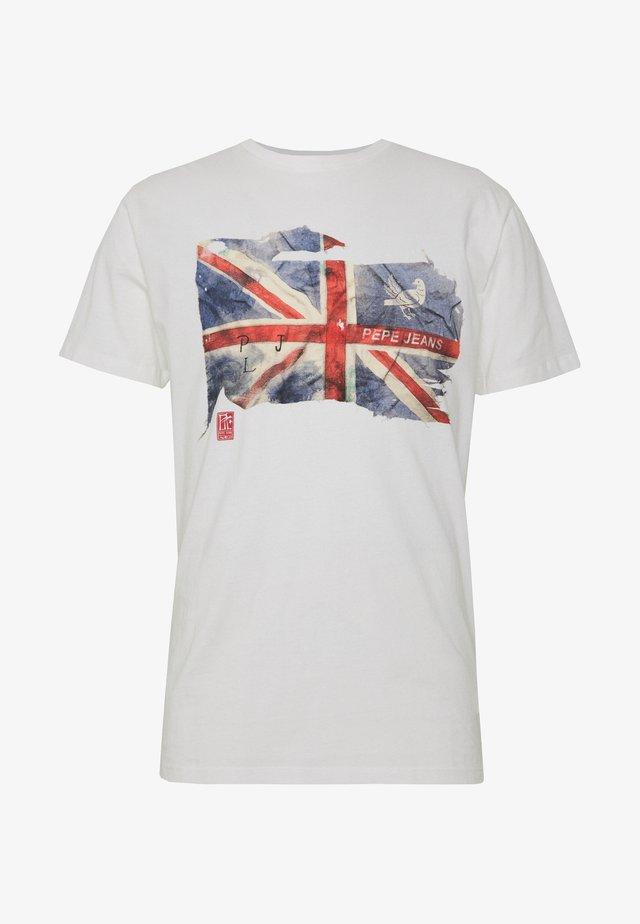 SID - T-shirt z nadrukiem - off white