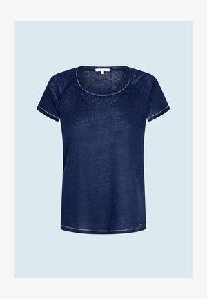 AMIRA - Jednoduché triko - dark blue