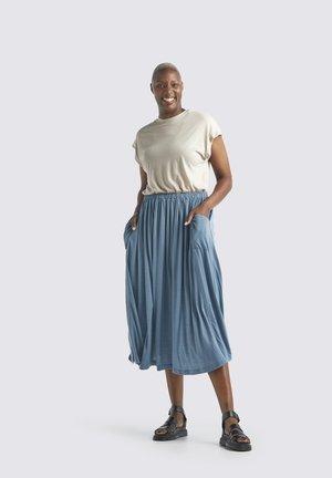 Spódnica plisowana - granite blue