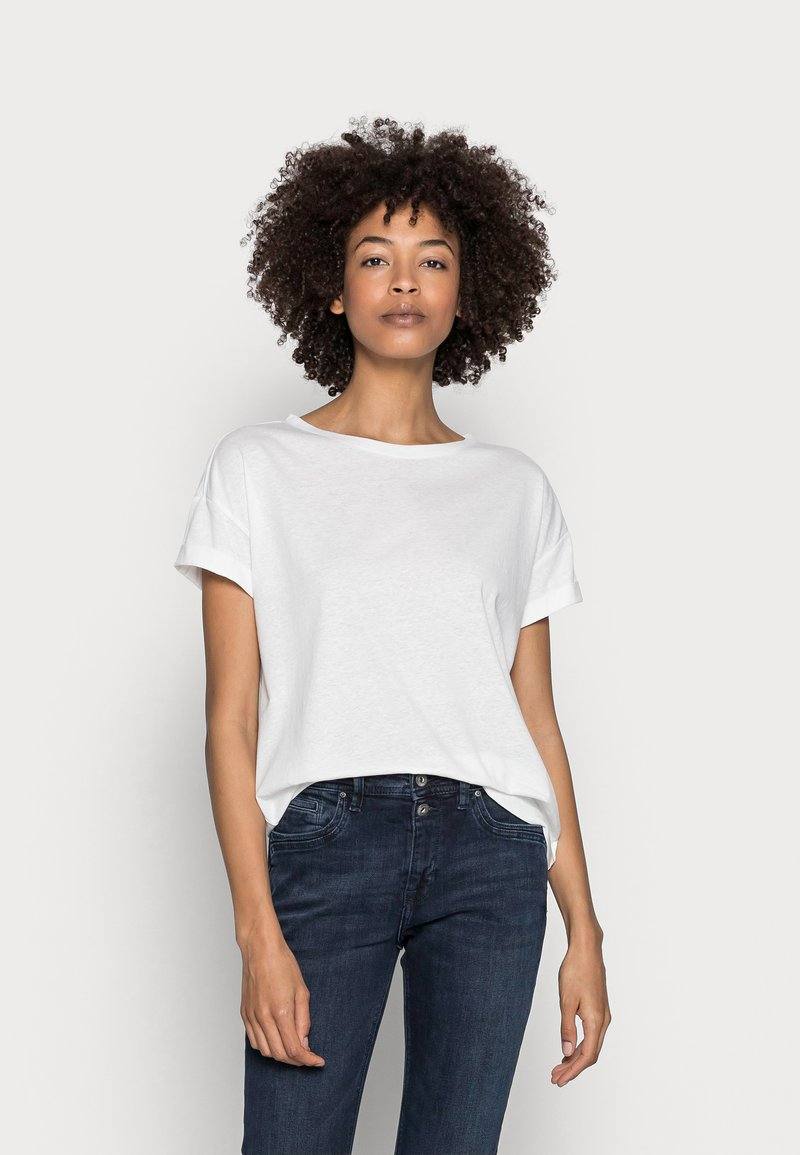 Esprit - CLOUDY - Basic T-shirt - off white