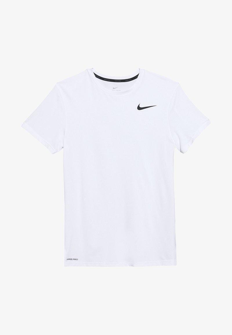 Nike Performance - T-shirts basic - white/black