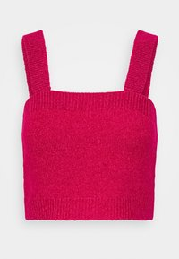 Who What Wear - CROPPED - Top - magenta - 0