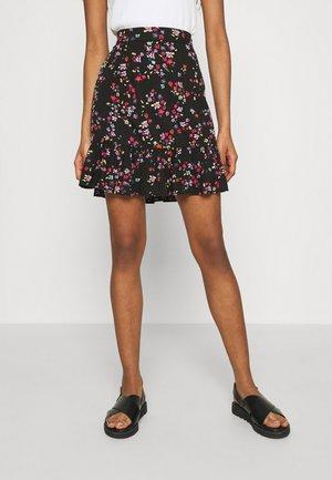PCLALA SKIRT - A-line skirt - black