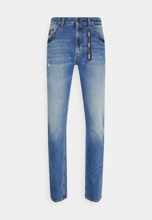 DRILL - Slim fit jeans - light-blue denim