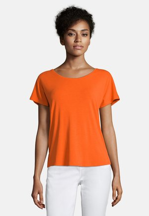 Basic T-shirt - red orange