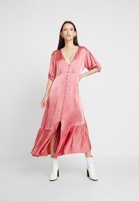 Ghost - IZZY DRESS - Denní šaty - pink - 0