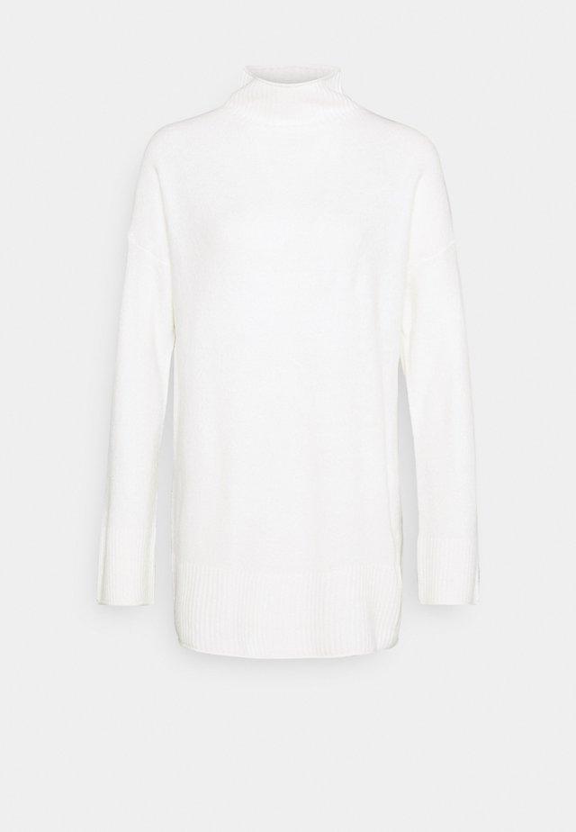 TURTLE NECK - Sweter - white